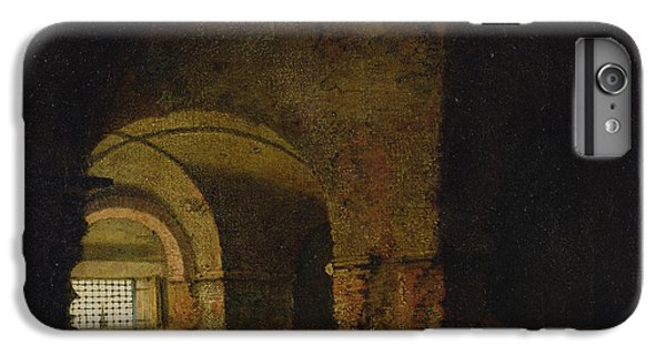 Dungeon iPhone 8 Plus Case - The Prisoner, C.1787-90 Oil On Canvas by Joseph Wright of Derby