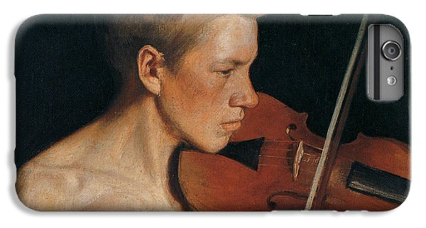 Violin iPhone 8 Plus Case - The Violinist by Celestial Images