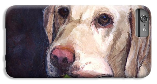 Dog iPhone 8 Plus Case - Throw The Ball by Molly Poole