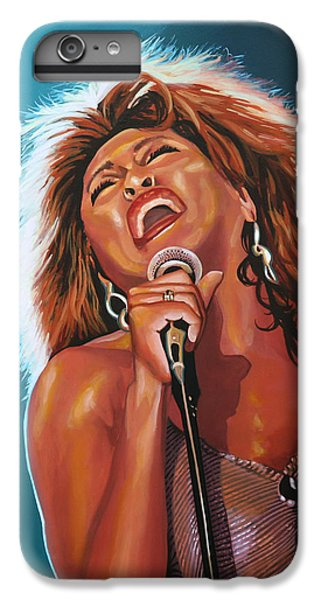 Rhythm And Blues iPhone 8 Plus Case - Tina Turner 3 by Paul Meijering