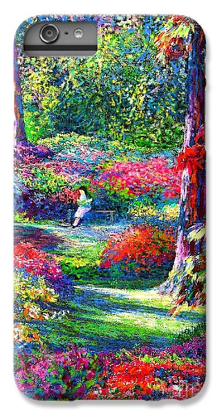 Shrub iPhone 8 Plus Case - To Read And Dream by Jane Small