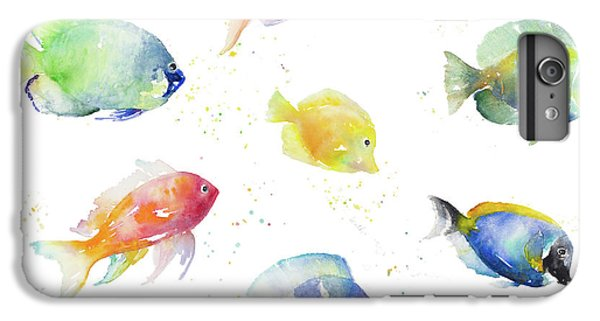 For iPhone 8 Plus Case - Tropical Fish Round by Lanie Loreth