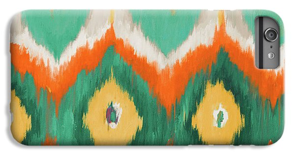 Beach iPhone 8 Plus Case - Tropical Ikat II by Patricia Pinto