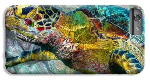 Scuba Diving iPhone 8 Plus Case - Tropical Sea Turtle by Jack Zulli
