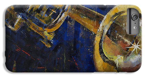Trumpet iPhone 8 Plus Case - Trumpet by Michael Creese
