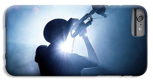 Trumpet iPhone 8 Plus Case - Trumpet Player by Erik De Klerck