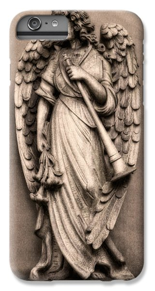 Trumpet iPhone 8 Plus Case - Trumpeter Angel by Tom Mc Nemar