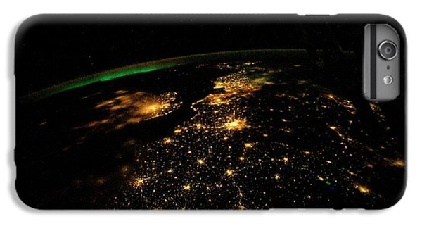 International Space Station iPhone 8 Plus Case - Uk And Europe At Night From Space by Nasa/science Photo Library