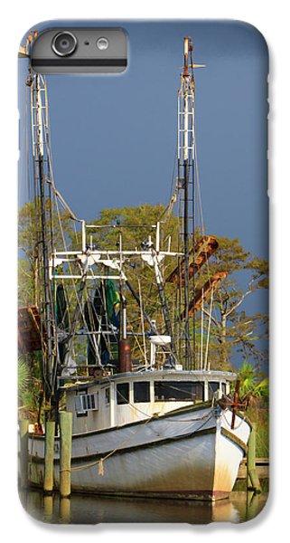 Shrimp Boats iPhone 8 Plus Case - Usa, Florida, Apalachicola, Shrimp Boat by Joanne Wells
