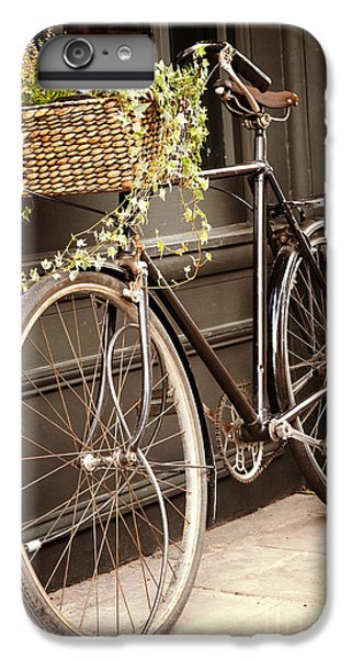 Bicycle iPhone 8 Plus Case - Vintage Bicycle by Jane Rix