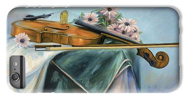 Violin iPhone 8 Plus Case - Violin by Lucie Bilodeau