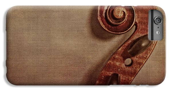 Violin iPhone 8 Plus Case - Violin Scroll by Emily Kay