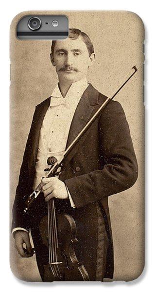 Violin iPhone 8 Plus Case - Violinist, C1900 by Granger
