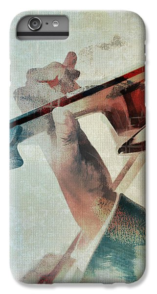 Violin iPhone 8 Plus Case - Violinist by David Ridley