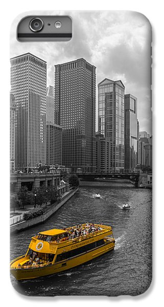 Chicago River iPhone 8 Plus Case - Watertaxi by Clay Townsend