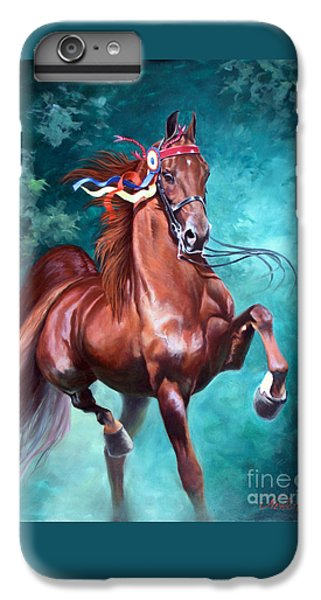 Horse iPhone 8 Plus Case - Wgc Courageous Lord by Jeanne Newton Schoborg