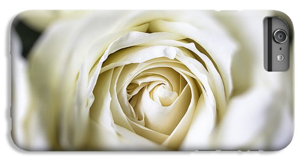 Rose iPhone 8 Plus Case - Whie Rose Softly by Garry Gay