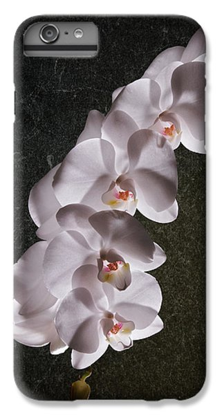 Orchid iPhone 8 Plus Case - White Orchid Still Life by Tom Mc Nemar