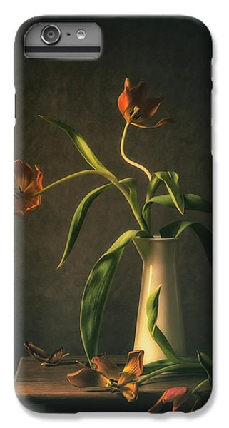 Tulip iPhone 8 Plus Case - Wilted Tulips by Monique Van Velzen