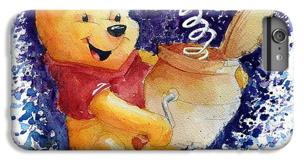 The iPhone 8 Plus Case - Winnie The Pooh And Honey Pot by Andrew Fling