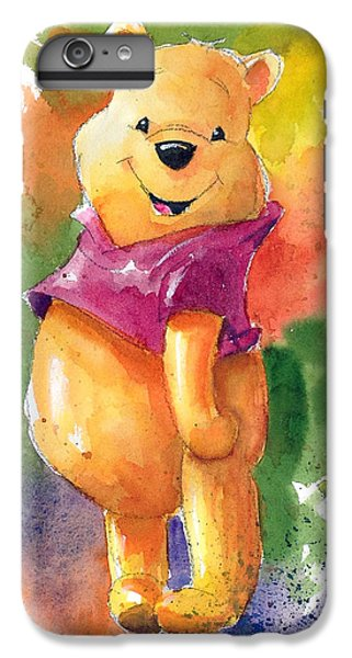 The iPhone 8 Plus Case - Winnie The Pooh by Andrew Fling