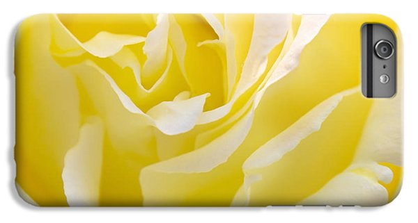 Rose iPhone 8 Plus Case - Yellow Rose by Svetlana Sewell