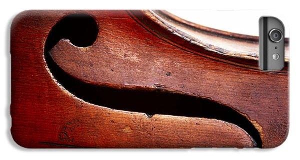 Violin iPhone 8 Plus Case - G Clef by Michal Boubin