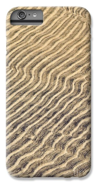 Sand iPhone 8 Plus Case - Sand Ripples In Shallow Water by Elena Elisseeva