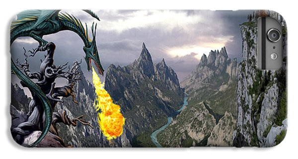 Fantasy iPhone 8 Plus Case - Dragon Valley by The Dragon Chronicles - Garry Wa