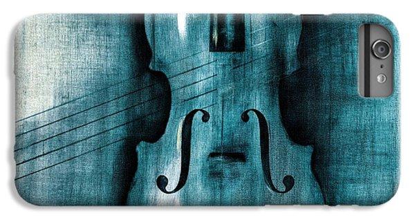 Violin iPhone 8 Plus Case - Le Violon Bleu by Hakon Soreide