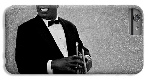 Trumpet iPhone 8 Plus Case - Louis Armstrong Bw by David Dehner