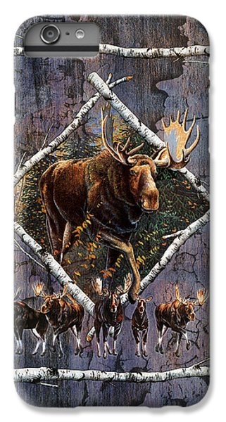 Bull iPhone 8 Plus Case - Moose Lodge by JQ Licensing