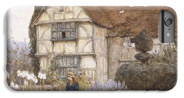 Garden iPhone 8 Plus Case - Old Manor House by Helen Allingham