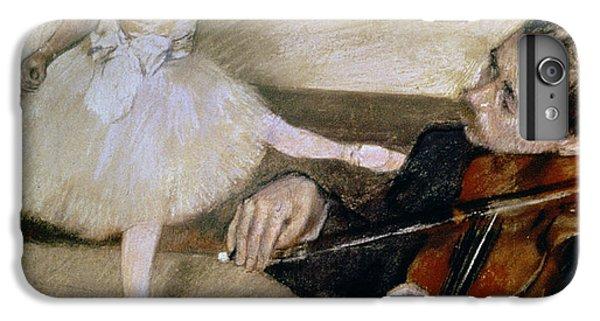 Violin iPhone 8 Plus Case - The Dance Lesson by Edgar Degas