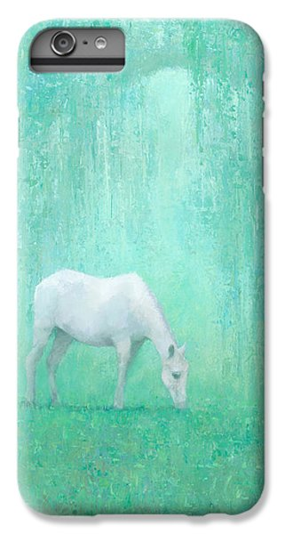 Horse iPhone 8 Plus Case - The Green Glade by Steve Mitchell