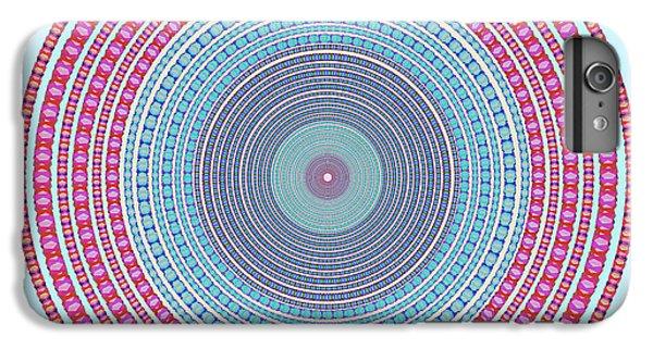 Fantasy iPhone 8 Plus Case - Vintage Color Circle by Atiketta Sangasaeng
