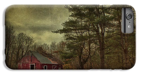 New England Barn iPhone 8 Plus Case - Watching Over Me by Evelina Kremsdorf