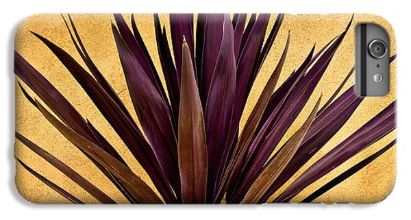 Desert iPhone 8 Plus Case -  Purple Giant Dracaena Santa Fe by John Hansen