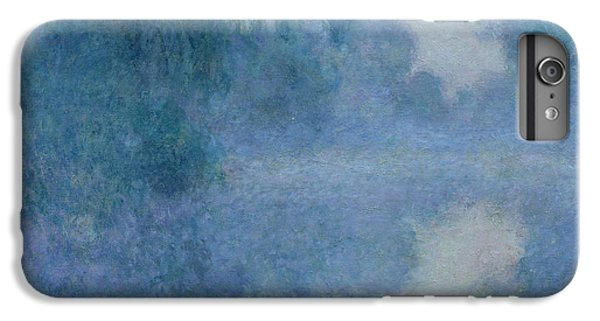 Impressionism iPhone 8 Plus Case - Branch Of The Seine Near Giverny by Claude Monet