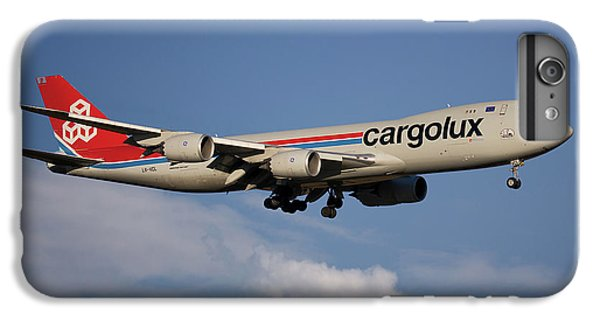 Jet iPhone 8 Plus Case - Cargolux Boeing 747-8r7 4 by Smart Aviation