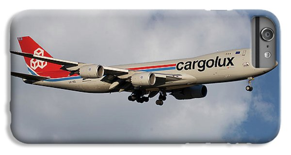 Jet iPhone 8 Plus Case - Cargolux Boeing 747-8r7 5 by Smart Aviation