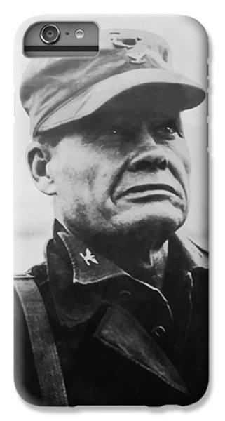 Cross iPhone 8 Plus Case - Chesty Puller by War Is Hell Store
