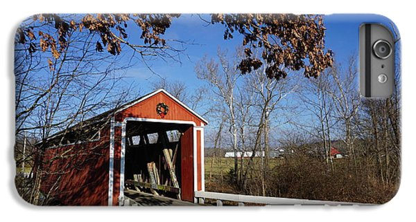 iPhone 8 Plus Case - Covered Bridge by Red Cross