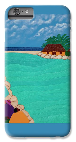 iPhone 8 Plus Case - Curacao Lagoon by Synthia SAINT JAMES