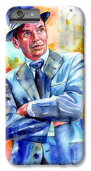 Fairy iPhone 8 Plus Case - Frank Sinatra Young Painting by Suzann's Art