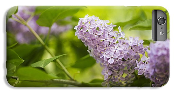 Shrub iPhone 8 Plus Case - Purple Lilac by Nailia Schwarz