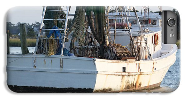 Shrimp Boats iPhone 8 Plus Case - Shrimp Boat by Dustin K Ryan