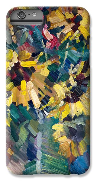 Impressionism iPhone 8 Plus Case - Sunflowers by Nikolay Malafeev