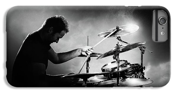 Drum iPhone 8 Plus Case - The Drummer by Johan Swanepoel
