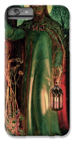 Lord iPhone 8 Plus Case - The Light Of The World by William Holman Hunt